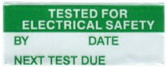 PRO POWER 1717360  Label Tested Elec Safety Pk350